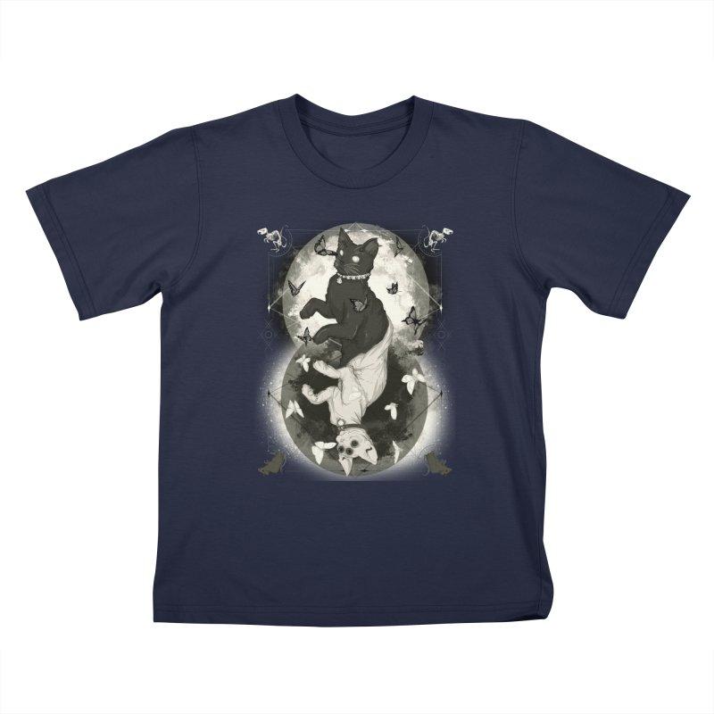 As Above So Below IV Kids T-Shirt by lvbart's Artist Shop