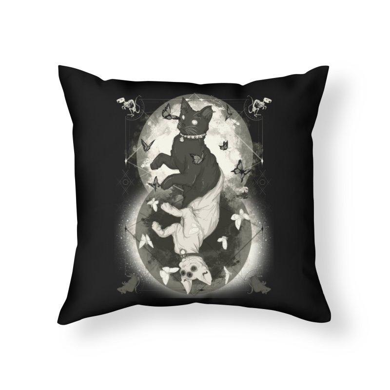 As Above So Below IV Home Throw Pillow by lvbart's Artist Shop