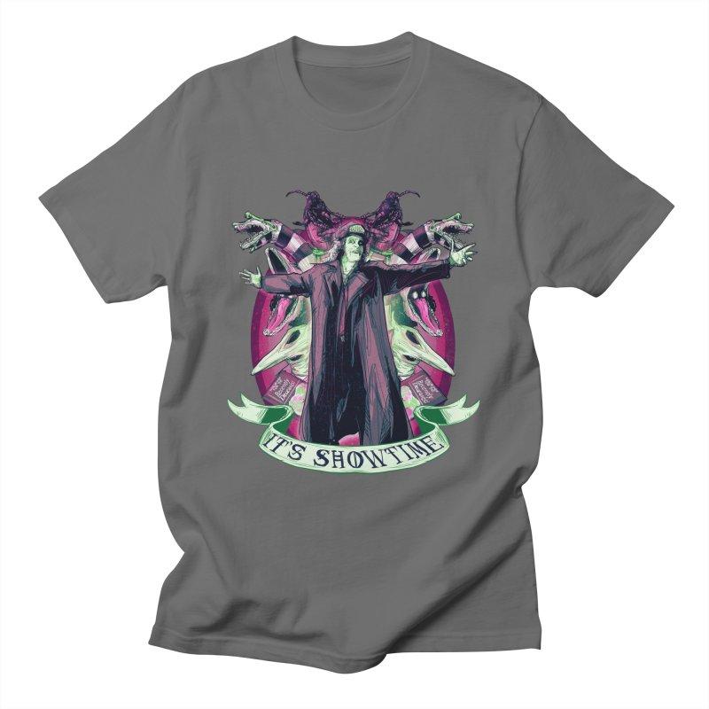 It's Showtime Men's T-Shirt by lvbart's Artist Shop