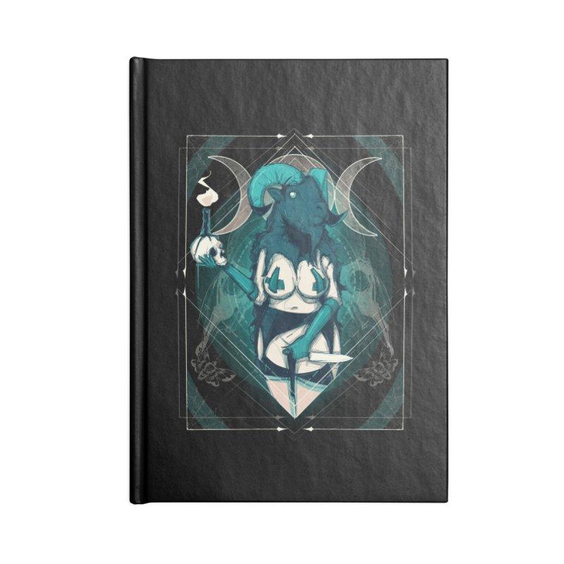 GOAT Accessories Notebook by lvbart's Artist Shop