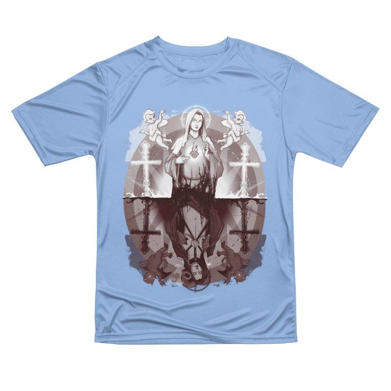 As Above So Below III Men's T-Shirt by lvbart's Artist Shop