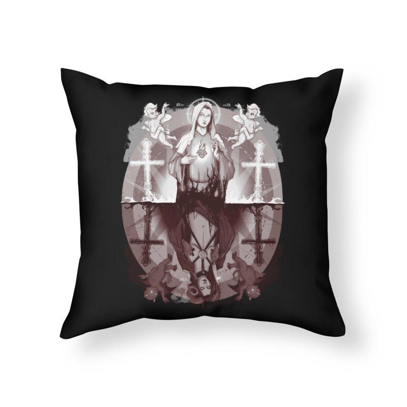 As Above So Below III Home Throw Pillow by lvbart's Artist Shop