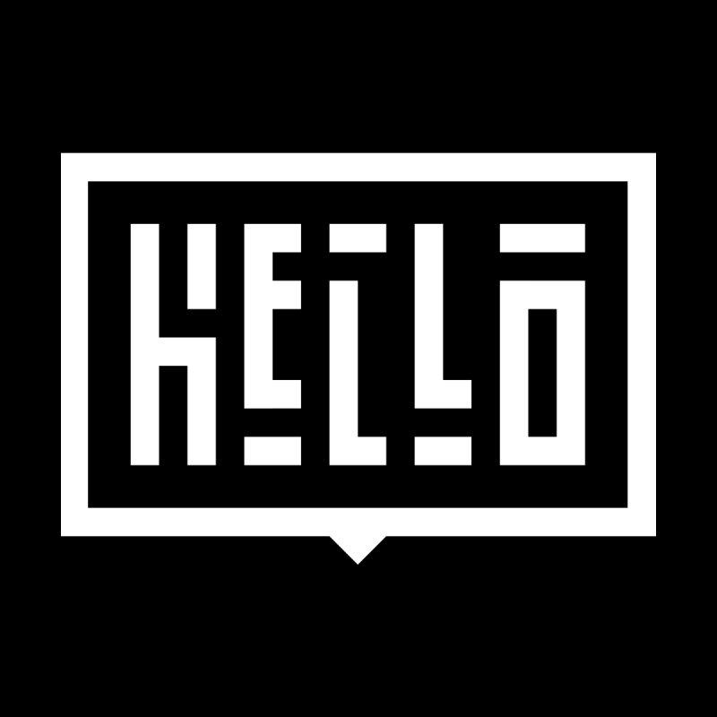 Hello WHT by LVS360 Artist Shop