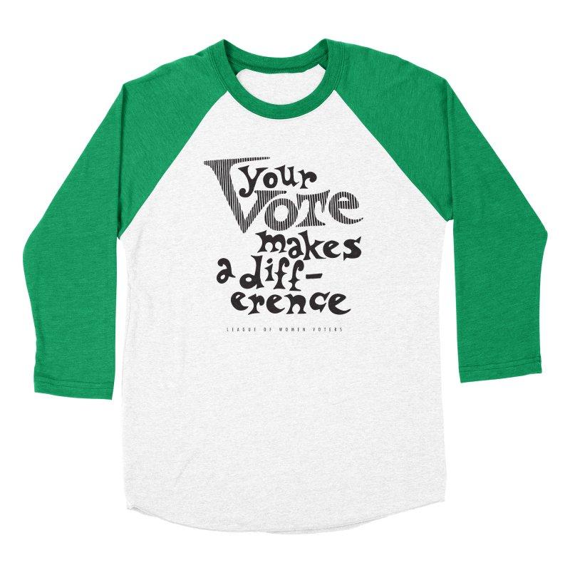 League of Women Voters of Mount Baldy - Black Women's Longsleeve T-Shirt by lwvmtbaldy's Artist Shop