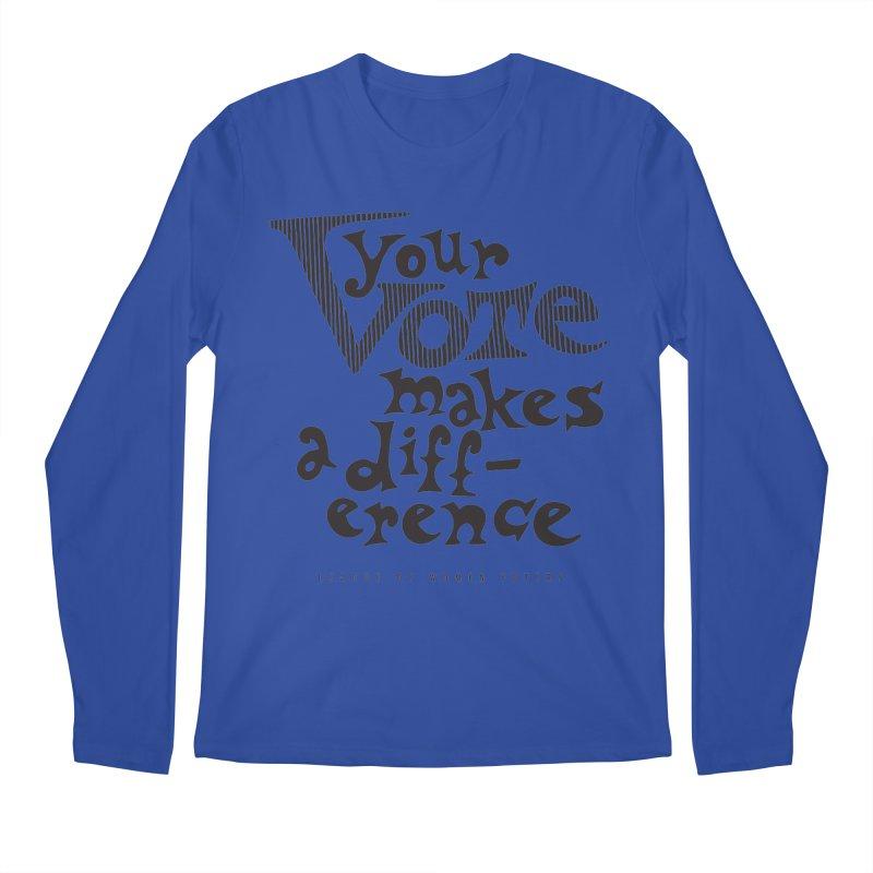 League of Women Voters of Mount Baldy - Black Men's Longsleeve T-Shirt by lwvmtbaldy's Artist Shop