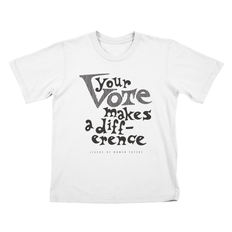 League of Women Voters of Mount Baldy - Black Kids T-Shirt by lwvmtbaldy's Artist Shop