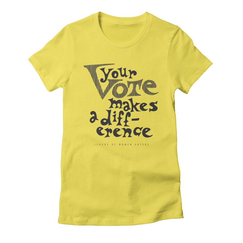 League of Women Voters of Mount Baldy - Black Women's T-Shirt by lwvmtbaldy's Artist Shop