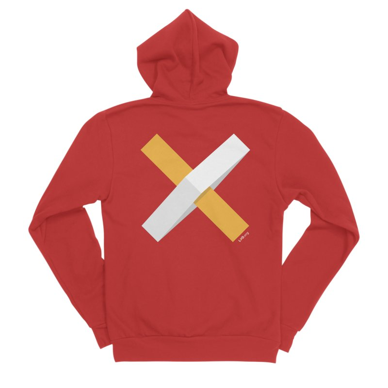 X Marks the Spot Women's Zip-Up Hoody by Learning Experience Design Shop