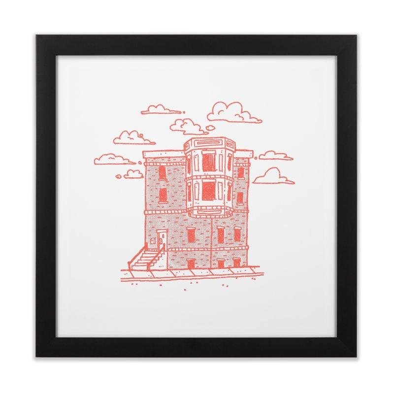 Tiny House # 2 Home Framed Fine Art Print by Luis Romero Shop