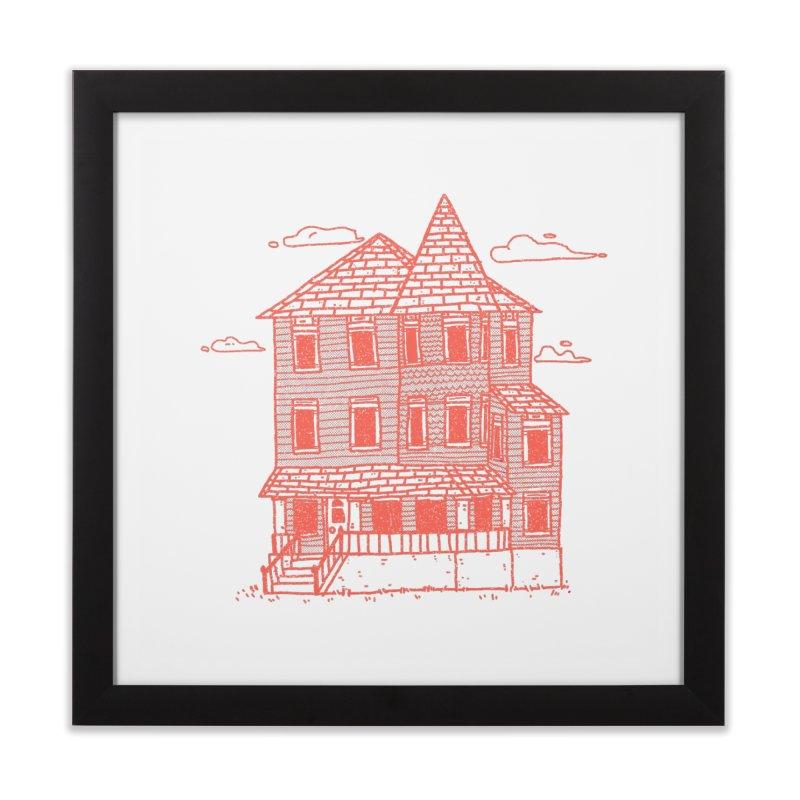 Tiny House #4 in Framed Fine Art Print Black by Luis Romero Shop