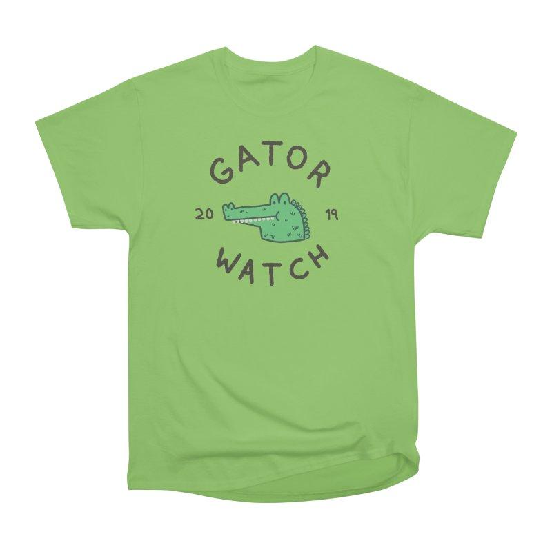 Gator Watch 2019 Men's Heavyweight T-Shirt by Luis Romero Shop