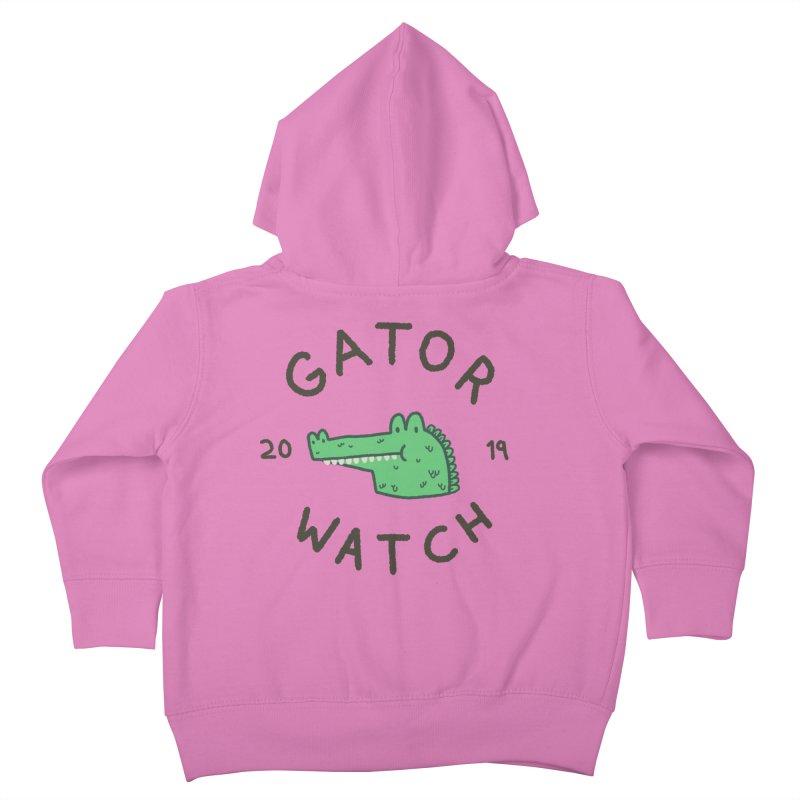 Gator Watch 2019 Kids Toddler Zip-Up Hoody by Luis Romero Shop