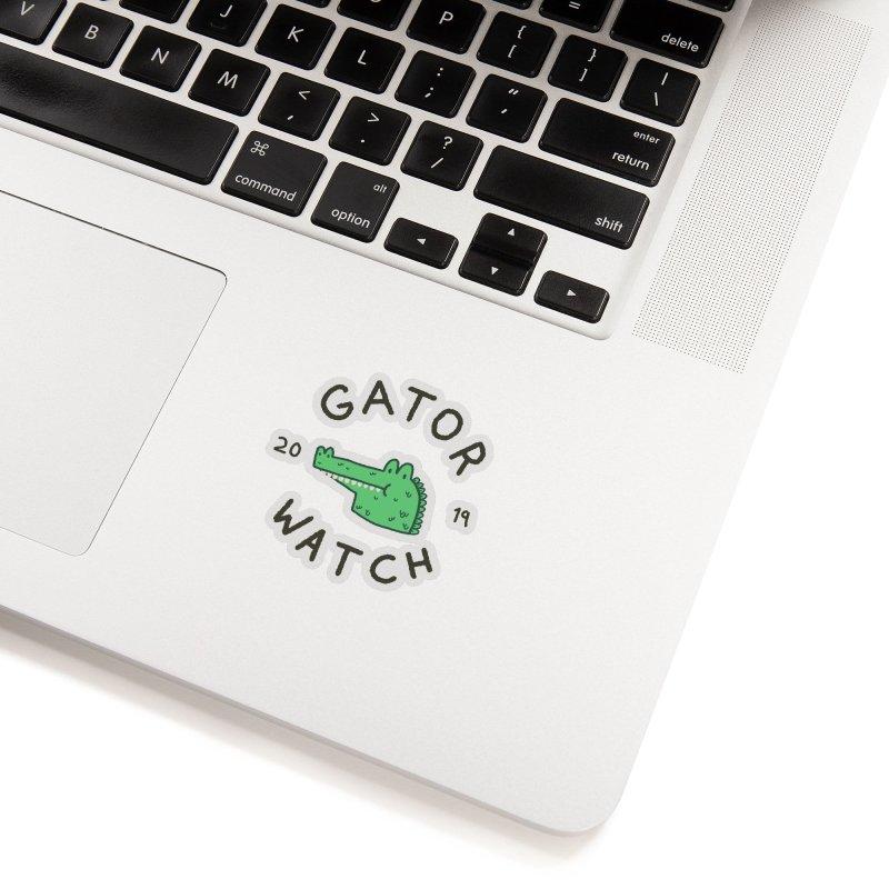 Gator Watch 2019 Accessories Sticker by Luis Romero Shop