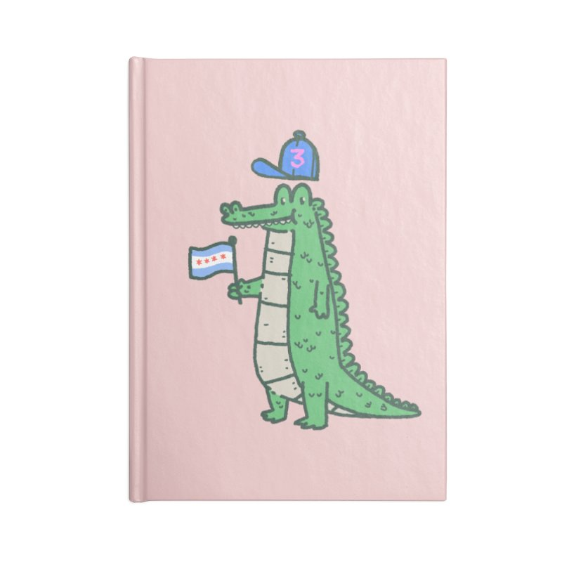 Chance The Snapper Accessories Lined Journal Notebook by Luis Romero Shop