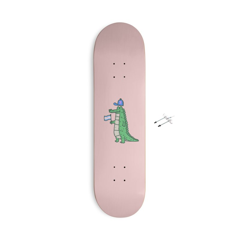 Chance The Snapper Accessories With Hanging Hardware Skateboard by Luis Romero Shop