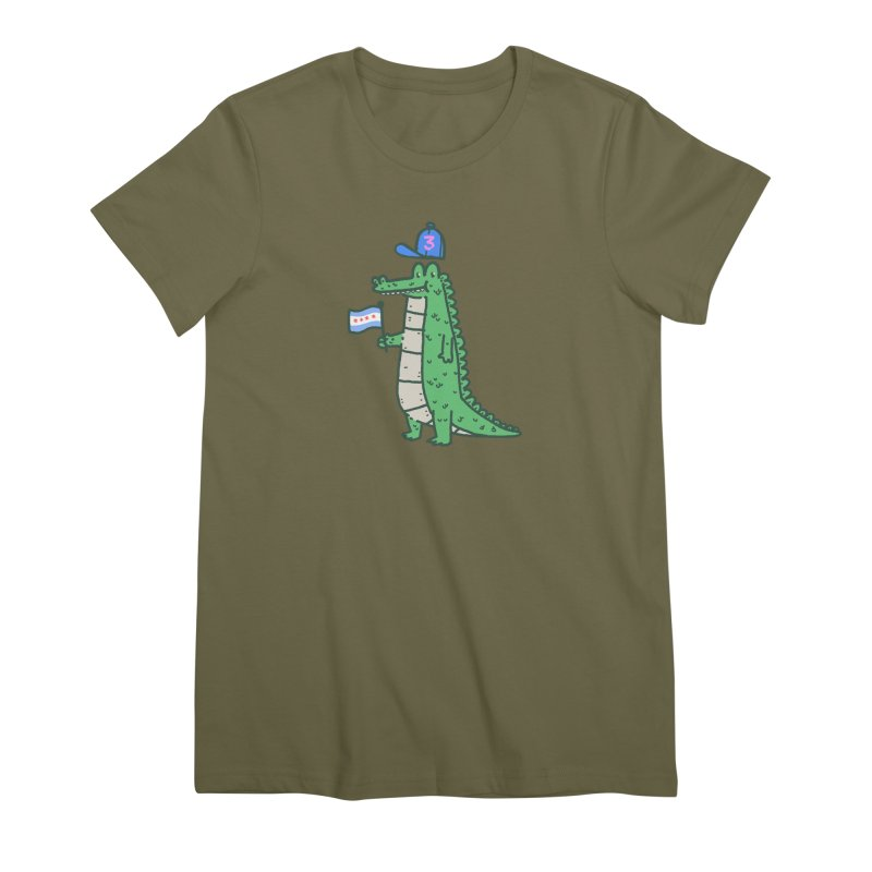 Chance The Snapper Women's Premium T-Shirt by Luis Romero Shop