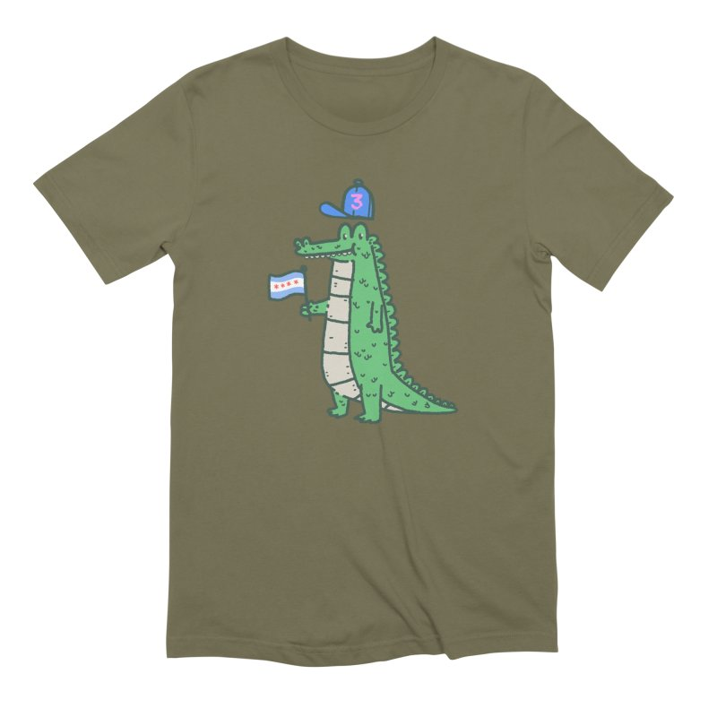 Chance The Snapper Men's Extra Soft T-Shirt by Luis Romero Shop