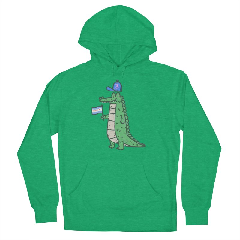 Chance The Snapper Men's French Terry Pullover Hoody by Luis Romero Shop
