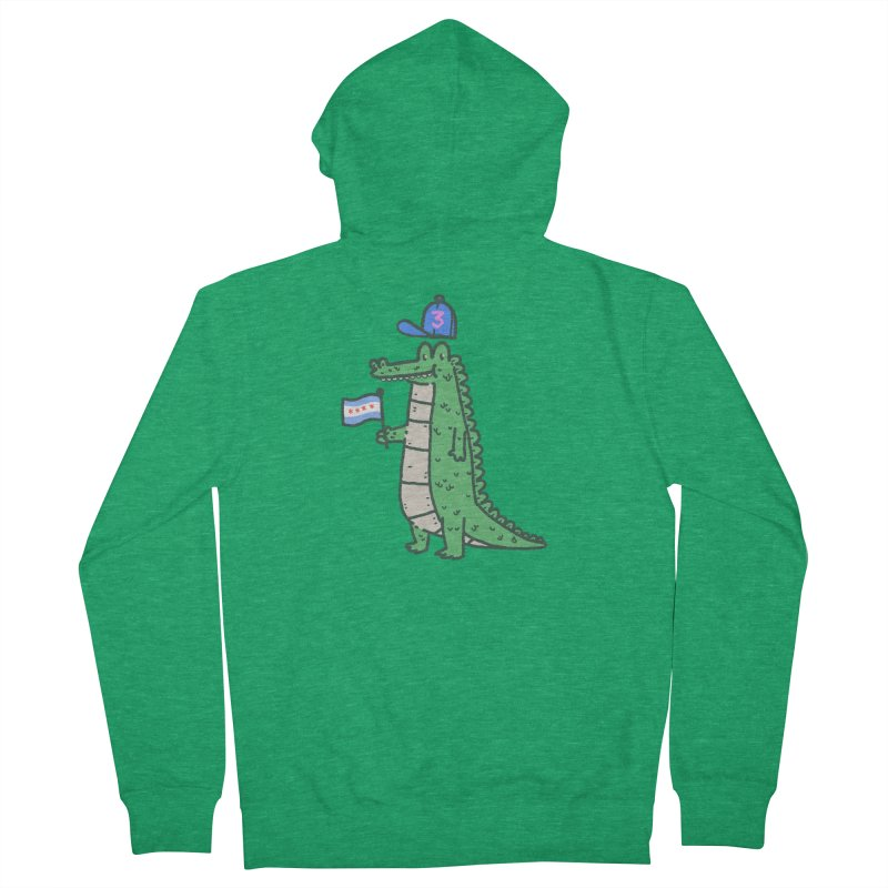 Chance The Snapper Men's French Terry Zip-Up Hoody by Luis Romero Shop