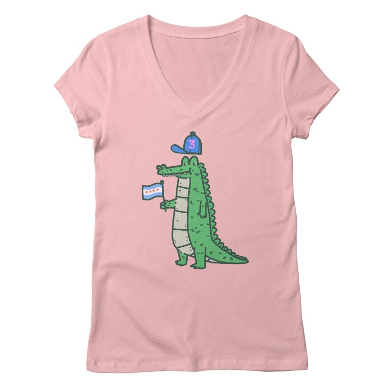 Chance The Snapper Women's Regular V-Neck by Luis Romero Shop