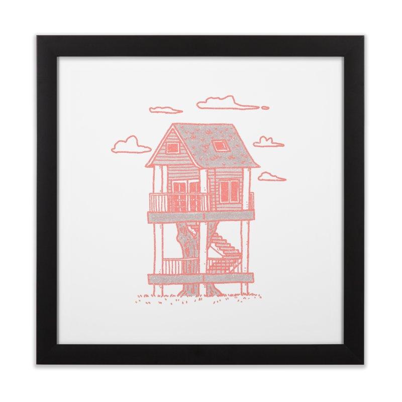 Tiny House #5 Home Framed Fine Art Print by Luis Romero Shop