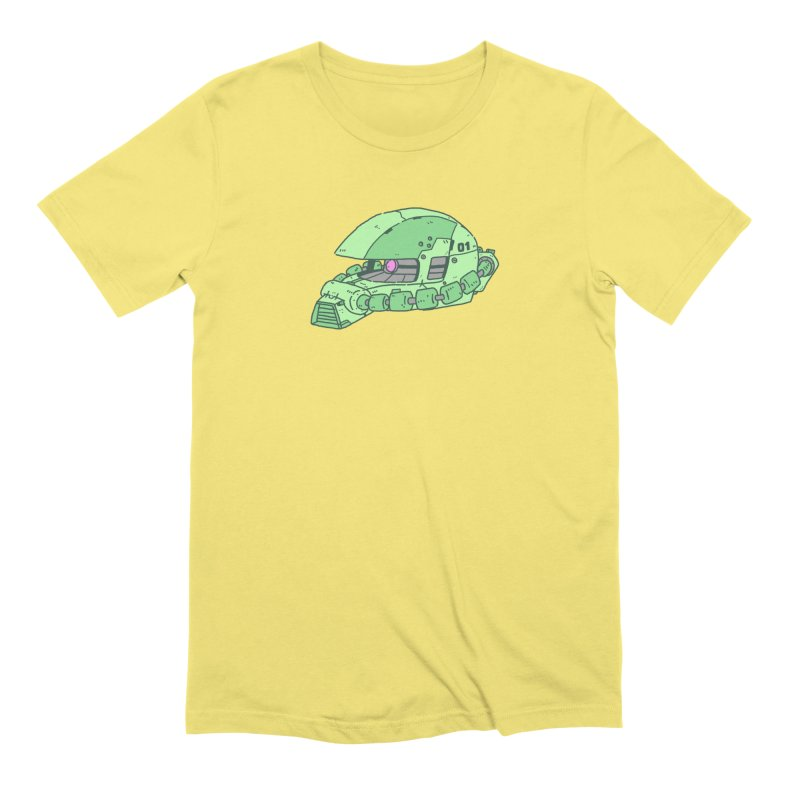 MS Series #01 Men's Extra Soft T-Shirt by Luis Romero Shop