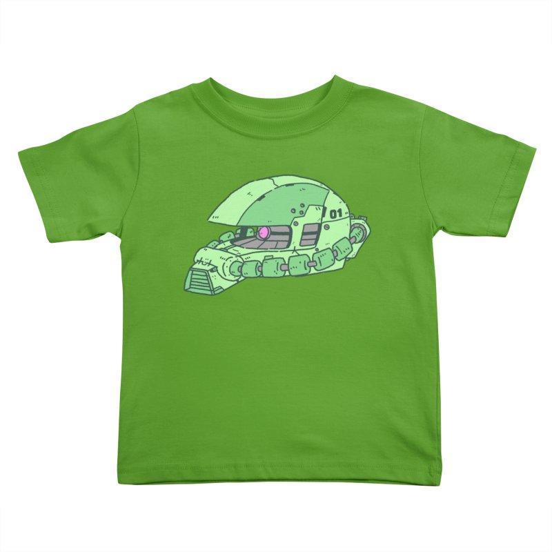 MS Series #01 Kids Toddler T-Shirt by Luis Romero Shop
