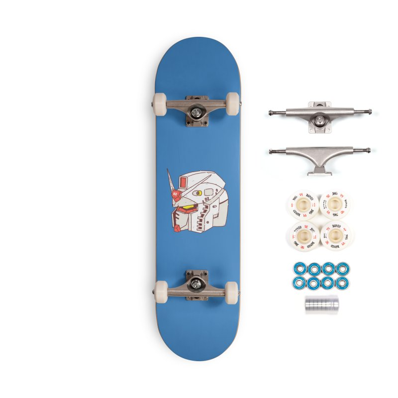 MS Series #02 Accessories Complete - Premium Skateboard by Luis Romero Shop