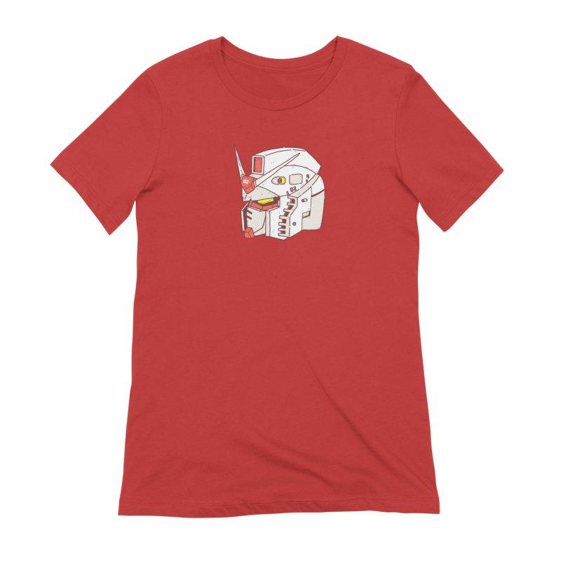 MS Series #02 Women's Extra Soft T-Shirt by Luis Romero Shop