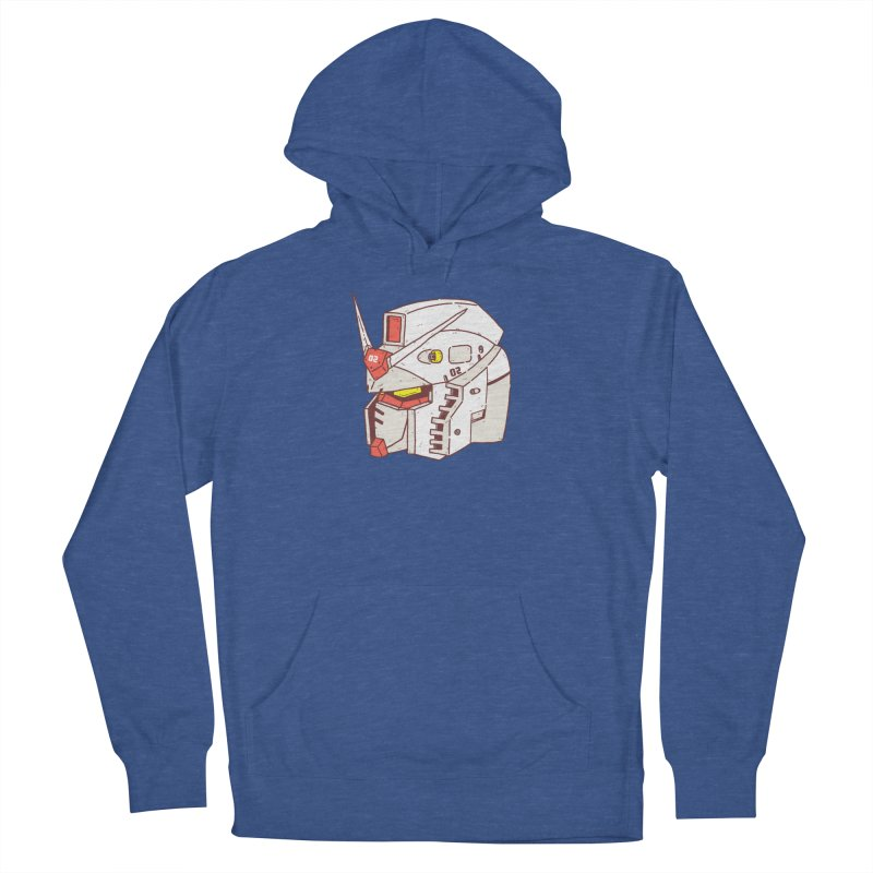 MS Series #02 Women's French Terry Pullover Hoody by Luis Romero Shop