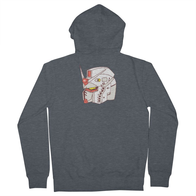 MS Series #02 Women's French Terry Zip-Up Hoody by Luis Romero Shop