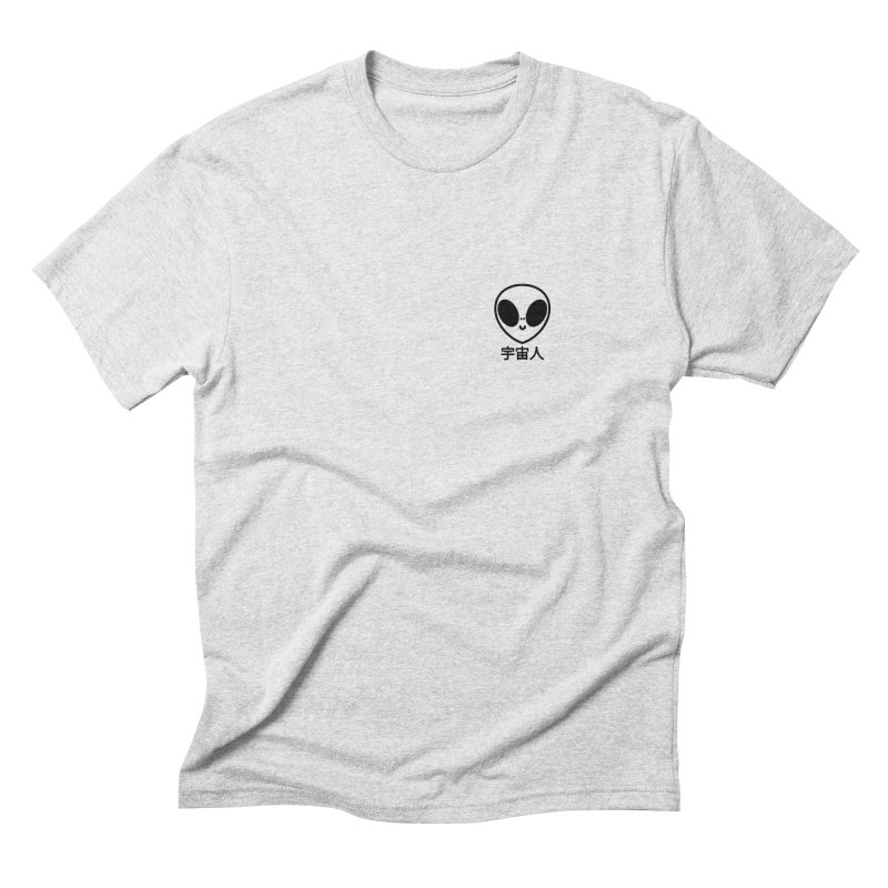 Uchuujin (black) Men's Triblend T-Shirt by Luis Romero Shop