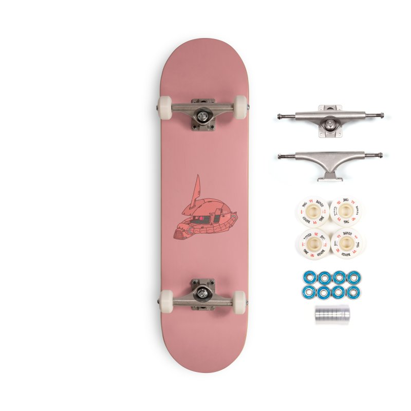 MS Series #03 Accessories Complete - Premium Skateboard by Luis Romero Shop