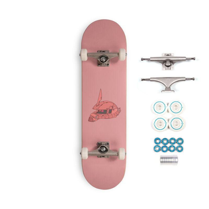 MS Series #03 Accessories Complete - Basic Skateboard by Luis Romero Shop