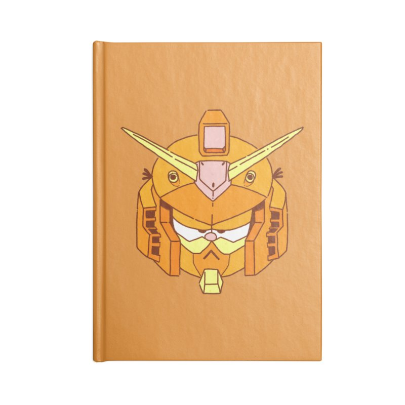 GF-80 Accessories Lined Journal Notebook by Luis Romero Shop