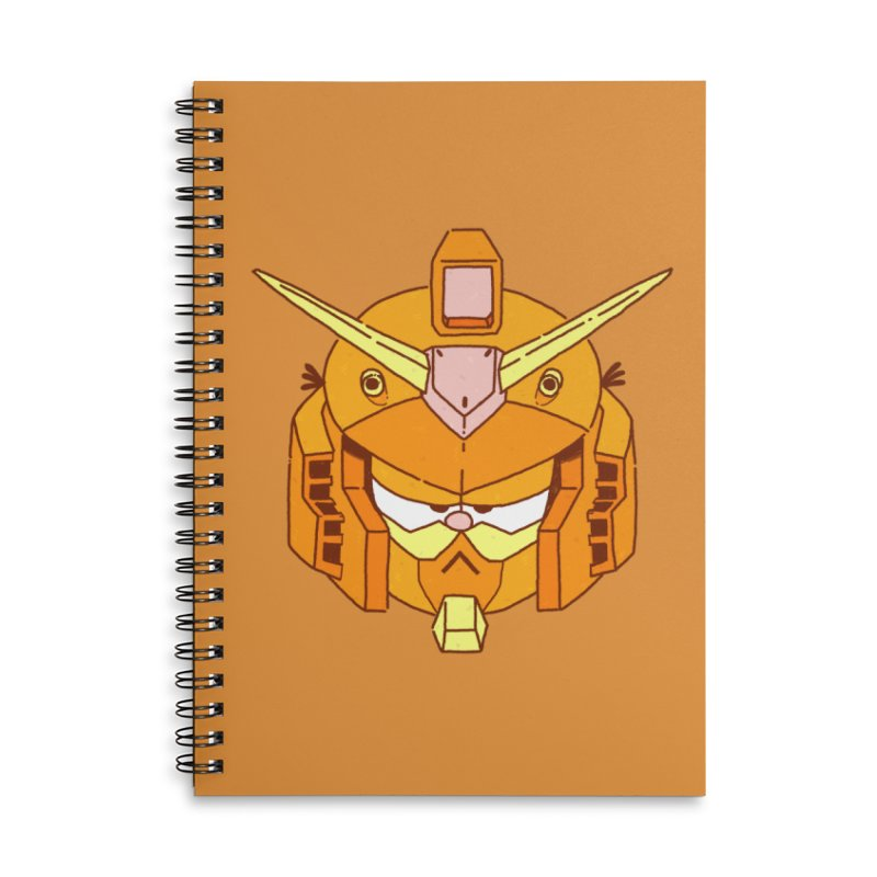 GF-80 Accessories Lined Spiral Notebook by Luis Romero Shop