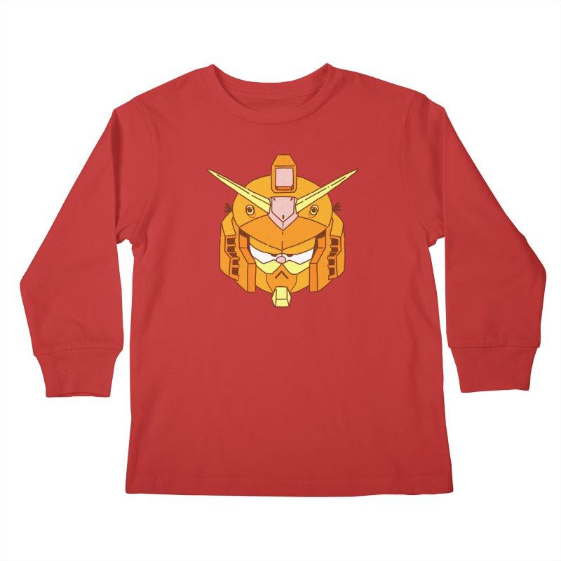 GF-80 Kids Longsleeve T-Shirt by Luis Romero Shop