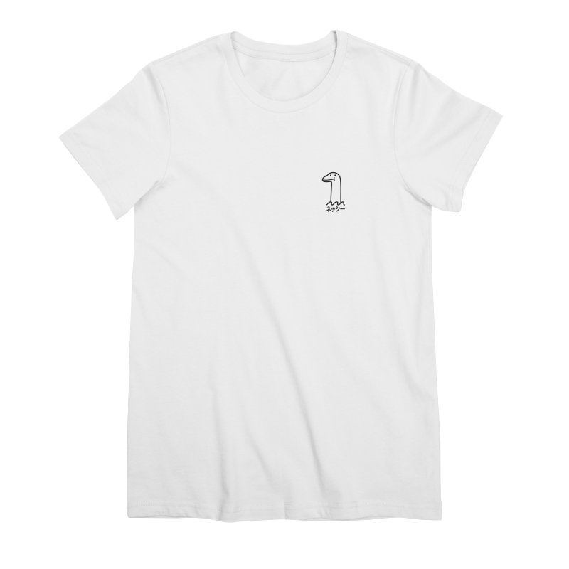 Nessie Women's Premium T-Shirt by Luis Romero Shop