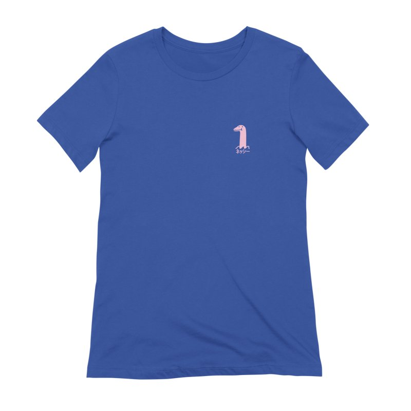 Nessie (Pink) Women's Extra Soft T-Shirt by Luis Romero Shop
