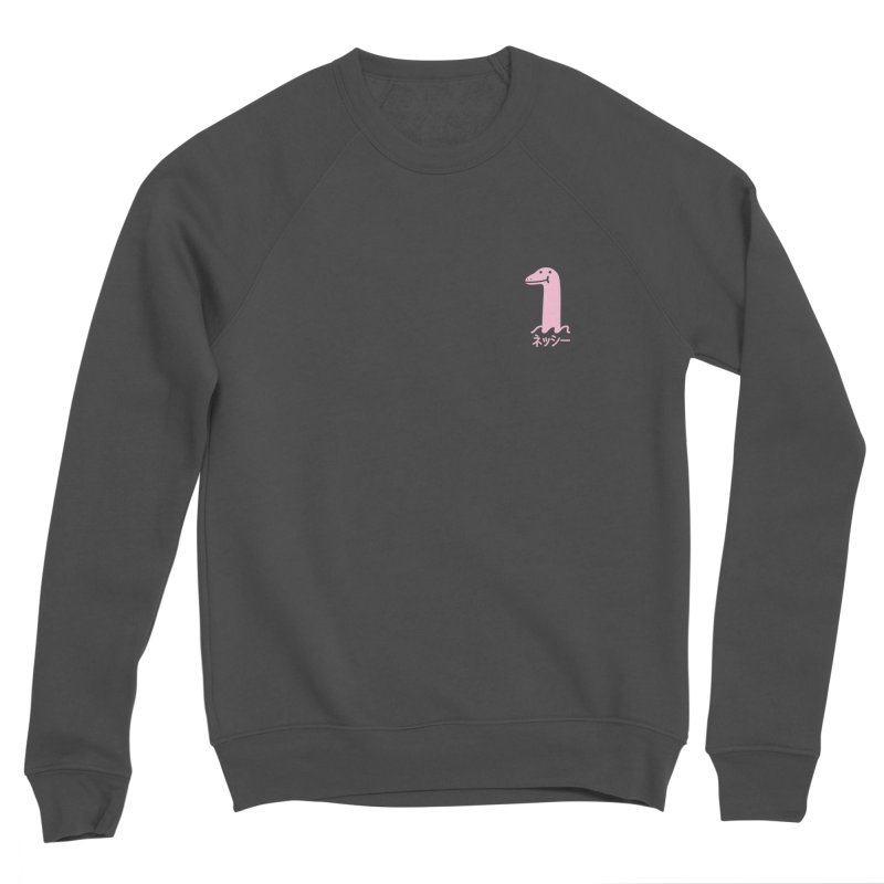 Nessie (Pink) Women's Sponge Fleece Sweatshirt by Luis Romero Shop