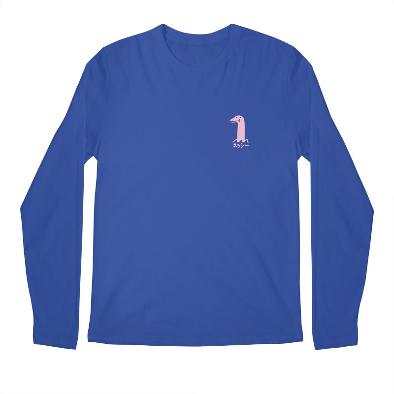 Nessie (Pink) Men's Regular Longsleeve T-Shirt by Luis Romero Shop
