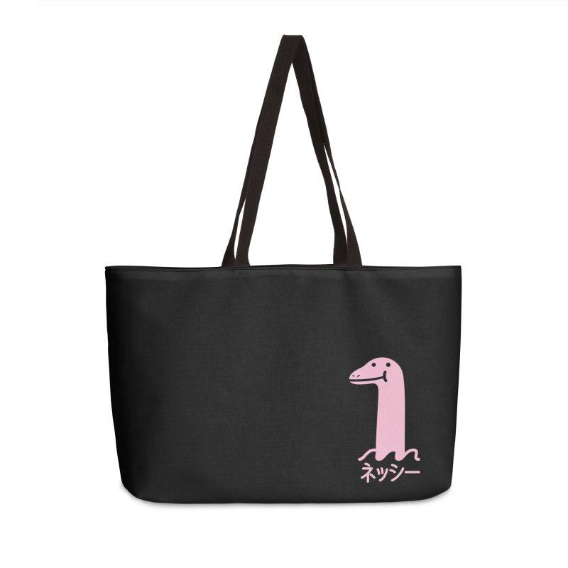 Nessie (Pink) Accessories Weekender Bag Bag by Luis Romero Shop