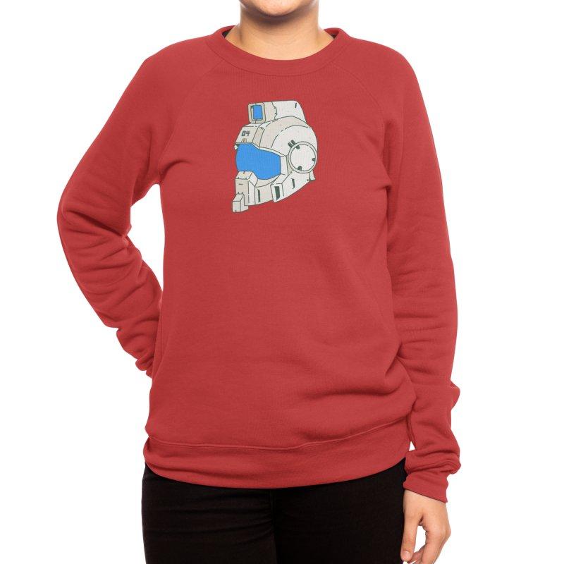 MS Series #04 Women's Sweatshirt by Luis Romero