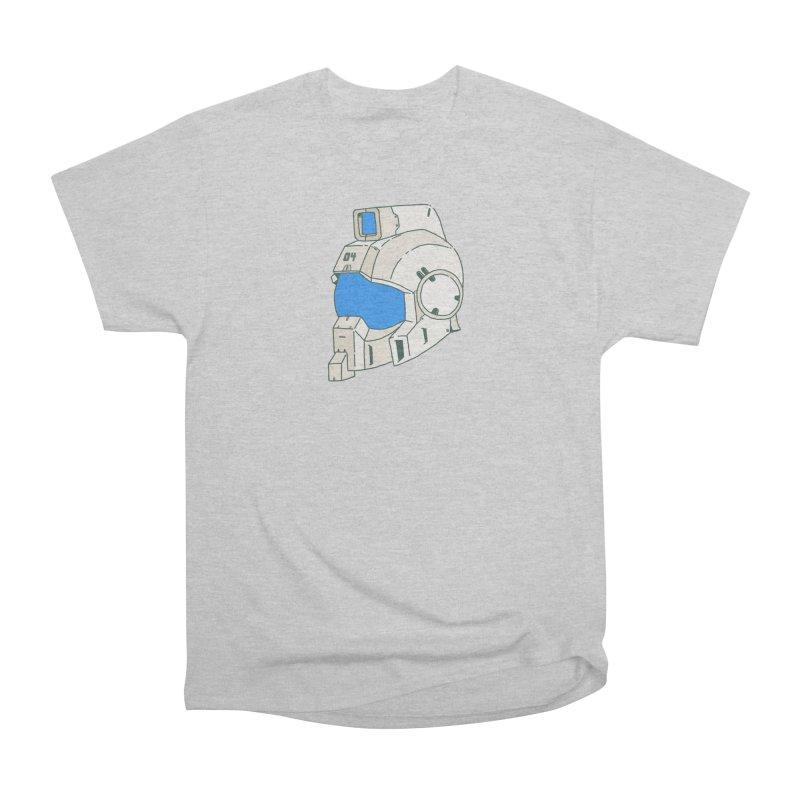 MS Series #04 Women's Heavyweight Unisex T-Shirt by Luis Romero Shop