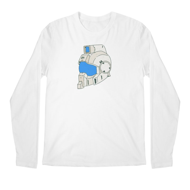MS Series #04 Men's Regular Longsleeve T-Shirt by Luis Romero Shop