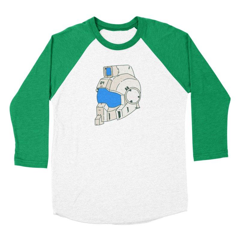 MS Series #04 Men's Baseball Triblend Longsleeve T-Shirt by Luis Romero Shop
