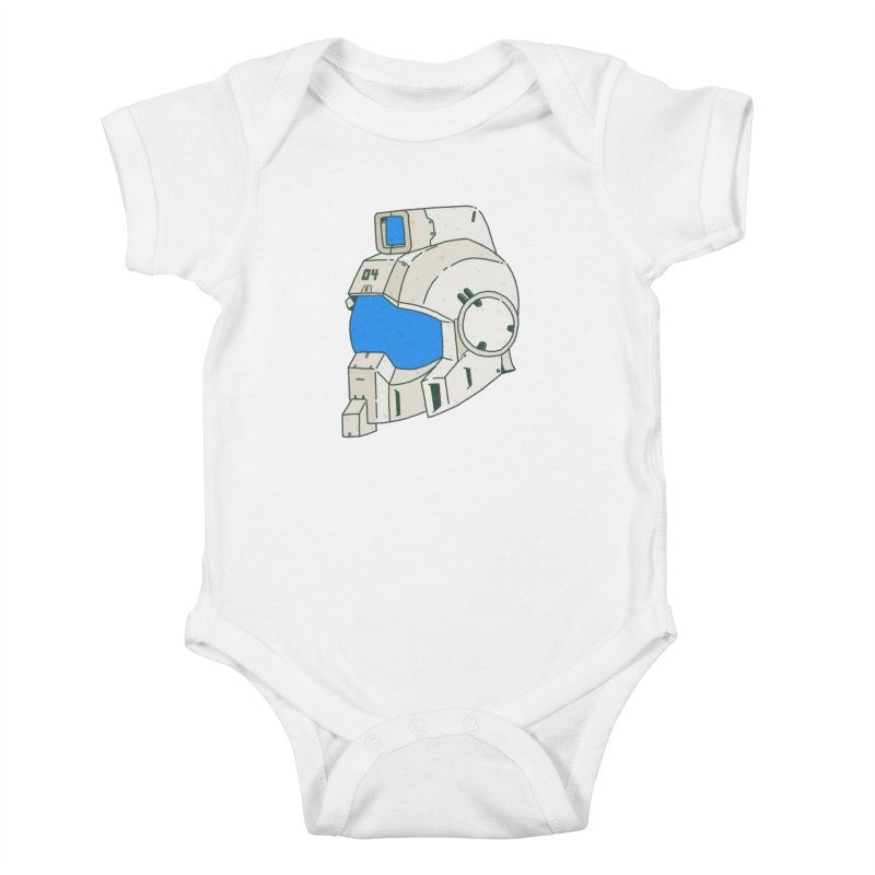 MS Series #04 Kids Baby Bodysuit by Luis Romero Shop