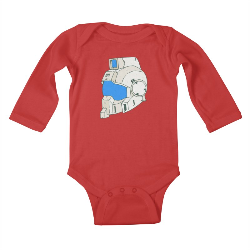 MS Series #04 Kids Baby Longsleeve Bodysuit by Luis Romero Shop