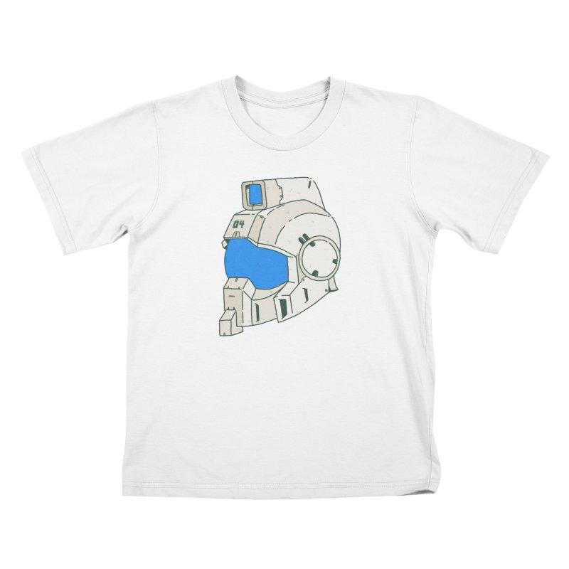 MS Series #04 Kids T-Shirt by Luis Romero Shop