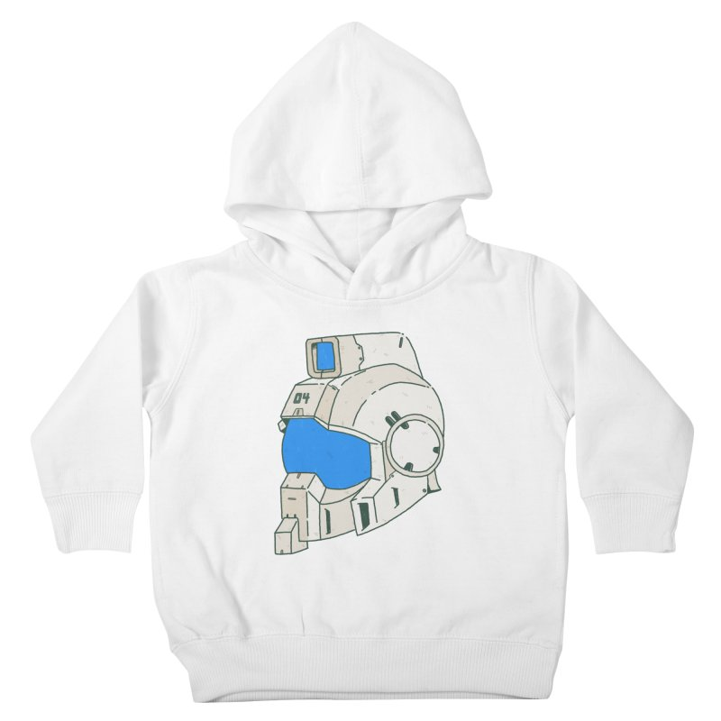 MS Series #04 Kids Toddler Pullover Hoody by Luis Romero Shop